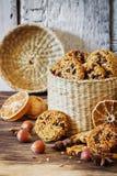 Печенья от семян сезама Стоковое Фото