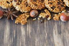 Печенья от семян сезама Стоковая Фотография RF