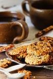 Печенья от семян сезама Стоковая Фотография