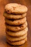 Печенья от теста Стоковое Изображение