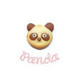 Печенья панды Стоковые Изображения