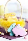 печенья пасха Стоковое Фото