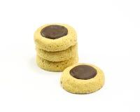 Печенья печений падения шоколада Стоковая Фотография RF