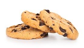 Печенья печенья шоколада домодельные стоковое изображение rf