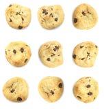 печенья положенные опрятно вне стоковое изображение