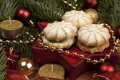 Печенья помадки Кристмас Стоковая Фотография