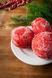 Печенья помадки рождества Стоковая Фотография
