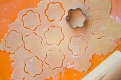 печенья подготовляя Стоковая Фотография RF