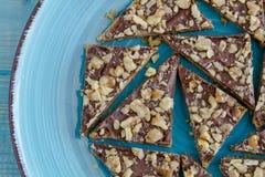 Печенья праздника Shortbread шоколада Стоковое Изображение