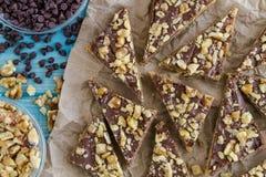 Печенья праздника Shortbread шоколада Стоковая Фотография RF