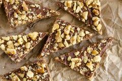 Печенья праздника Shortbread шоколада Стоковые Изображения RF