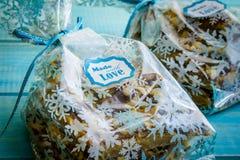 Печенья праздника Shortbread шоколада Стоковая Фотография