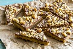 Печенья праздника Shortbread шоколада Стоковое фото RF
