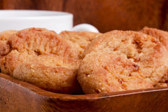 Печенья с завалкой карамельки Стоковое Изображение RF