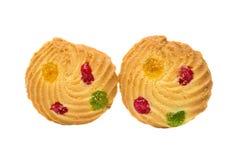печенья при покрашенный изолированный студень Стоковые Фото
