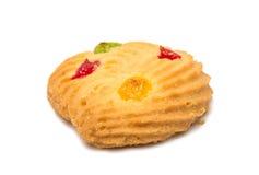 печенья при покрашенный изолированный студень Стоковое Фото