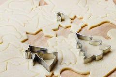 Печенья пряника, деликатес рождества стоковая фотография