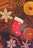 Печенья пряника Кристмас Стоковые Фото