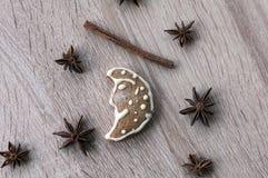 Печенья пряника Кристмас Стоковое фото RF