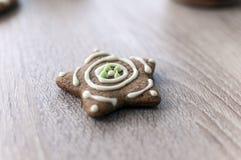 Печенья пряника Кристмас Стоковое Изображение RF
