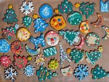 Печенья пряника Кристмас стоковая фотография