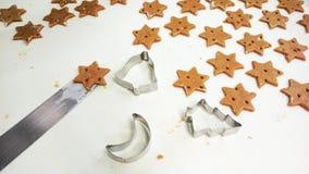 Печенья пряника Стоковые Фото
