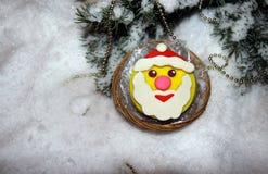 Печенья рождества с mastic Стоковая Фотография RF