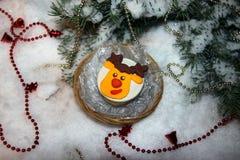Печенья рождества с mastic Стоковая Фотография