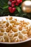 печенья рождества украсили праздничную установку Стоковые Изображения RF