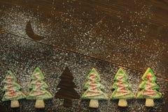 Печенья рождественской елки Стоковые Фото