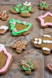 Печенья рождества пряника Стоковое Фото