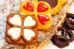 Печенья рождества, хлебопекарня рождества Стоковые Фото