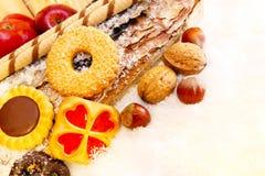 Печенья рождества, хлебопекарня рождества Стоковое фото RF