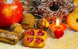 Печенья рождества, хлебопекарня рождества Стоковое Фото