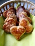 печенья самонаводят сделано Стоковые Изображения
