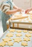 печенья самонаводят сделано Стоковое Фото