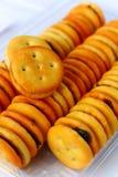 Печенья сандвича с виноградинами Стоковая Фотография RF
