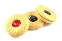 Печенья сандвича Стоковые Фотографии RF