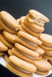 Печенья сандвича стоковая фотография rf