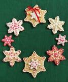 Печенья сахара рождества Стоковое Изображение