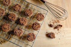 Печенья свежие от печи стоковое фото rf