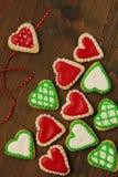 Печенья сердец Стоковые Изображения RF