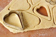 Печенья сердца. Стоковое Изображение
