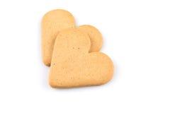 Печенья сердец пряника Стоковые Изображения RF