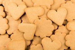 Печенья сердец пряника Стоковые Изображения