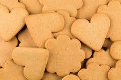 Печенья сердец пряника Стоковое фото RF