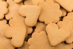 Печенья сердец пряника Стоковая Фотография RF