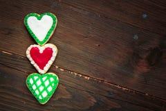 Печенья сердец Стоковая Фотография