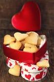 Печенья сердца форменные Стоковое Изображение