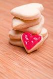 Печенья сердца Стоковая Фотография RF